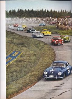 1953, Eifelrennen Nürburgring - Series Sports 1500 cc. I putting money that a 356 won this race.