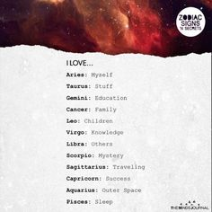 Signs Love the Most. This is accurate for me because I'm Sag with Capricorn stellium in my birth chart!