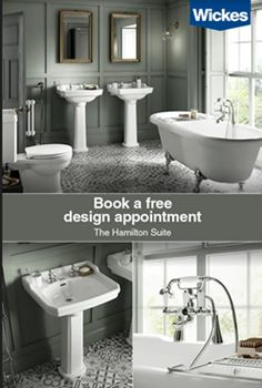 Your dream. Our experts. From design to installation plus all the finishing touches, we have everything you need to create your new bathroom. Book a free design appointment today Bathroom Showrooms, Service Design, Free Design, Create Yourself, Dreaming Of You, Utility Cupboard, Airing Cupboard, Decoration, Told You So