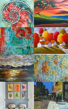 Hung Up on Art by Sue Davidson on Etsy--Pinned with TreasuryPin.com