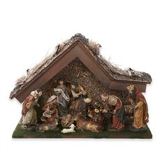 Christmas Nativity Scene, Christmas Figurines, Christmas Villages, Nativity Scenes, Christmas Bells, Christmas Village Accessories, Kids Outdoor Furniture, Meaning Of Christmas, Brown Home Decor