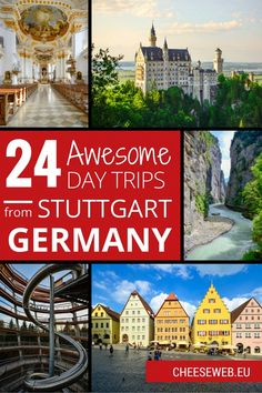 24 Awesome Day Trips from Stuttgart, Germany