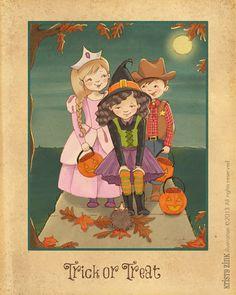 Halloween Trick or Treat by+KristyZink
