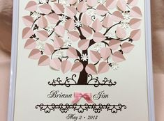 3d Wedding Guest Book Ideas-Personalized Wedding by WeddingUkraine