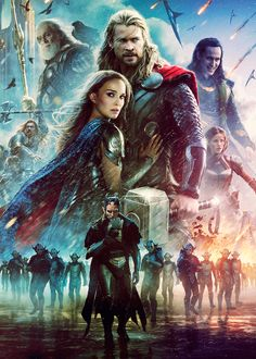 Thor is my favorite super hero (besides Wonder Woman of course). Watched this movie last night, so good!