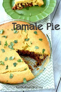 Easy Tamale Pie - a #quickandeasy weeknight meal that uses my pulled pork base recipe that you can make 5 different recipes with! | www.foodfolksandfun.net