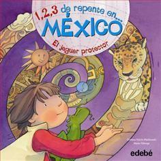 México, el jaguar protector. En este libro Martín viajará a México, la tierra de los antiguos aztecas y los mayas, donde vivirá encuentros sorprendentes, hallazgos y aventuras en los lugares sagrados, pirámides, selvas, tesoros del pasado y del presente. Siguiendo las pistas del jaguar protector, descubrirá un país mágico.