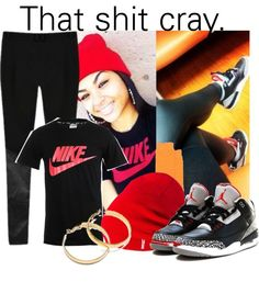 """""""""""That shit cray, that shit cray."""" :)"""" by princetonsboox3 ❤ liked on Polyvore"""