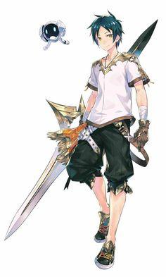 Idola Phantasy Star Saga announced for smartphones - Gematsu Fantasy Character Design, Character Drawing, Character Design Inspiration, Character Concept, Manga Anime, Anime Guys, Anime Art, Manga Characters, Fantasy Characters