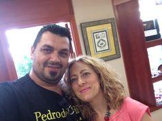 Con  @evagarciacarras  .... Inmortalizando momentos de amistad