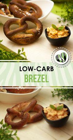 Die low-carb Brezel ist kohlenhydratarm und glutenfrei. Sie schmeckt ausgezeichnet und mit einem Obazder ist sie sogar noch leckerer.