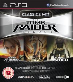 Tomb Raider Trilogy HD Sony PlayStation 3 Brand New Factor Sealed Tomb Raider Legend, Tomb Raider Underworld, Tomb Raider Game, Wii, Ps3 Games, Playstation Games, Xbox, Consoles, Aniversary