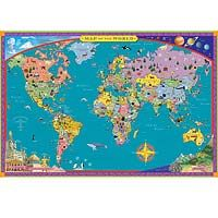 Great way to learn about other countries might get this one for his room so he can learn some new things. :-)