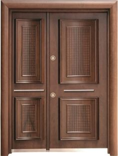 Can you imagine a house without doors? No matter how large or small a house is, well-made door design is essential to complete the structure. House Main Door Design, Wooden Front Door Design, Main Entrance Door Design, Front Door Entryway, Double Door Design, Door Gate Design, Wood Entry Doors, Door Design Interior, Wooden Doors