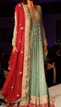 Pakistani Wedding Dresses | Latest Pakistani Bridal Lehanga Dresses 2013 006