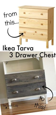 ikea tarva dresser turned tv stand