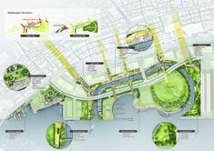 Consórcio SYNWHA vence concurso para projetar o parque da orla de Busan North Port