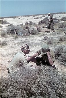 German position - Photographer: Wolff & Tritschler - Vintage property of ullstein bild - pin by stinky old poop stain Afrika Corps, North African Campaign, Erwin Rommel, Italian Army, Ww2 Tanks, German Army, Panzer, Toy Soldiers, World War Two