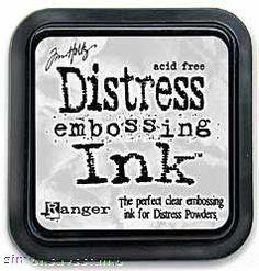 Tim Holtz Ranger Clear DISTRESS EMBOSSING INK PAD Ranger TIM21643