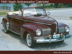 1941 Nash Ambassador Cabriolet