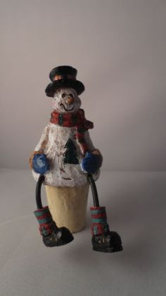 New Snowman Wine Stopper in Collectibles, Holiday & Seasonal, Christmas: Current (1991-Now), Other Current Christmas Décor   eBay
