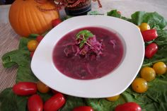 Spicy Purple Cabbage Soup