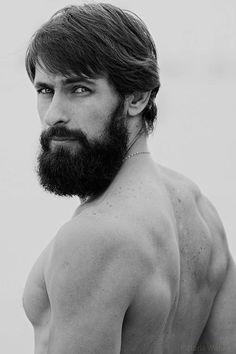 Barba linda. #hombre #barba