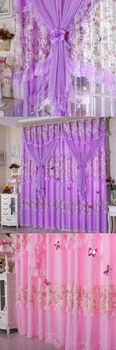 Dreamwood Environmentally friendly Embroidered Carton Window Curtain ...