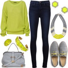 Fall Fashion 2013 | Neon For Fall | Fashionista Trends