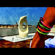 O2 bracelets fashion made in italy  Support us on kickstarter with our o2 campaign