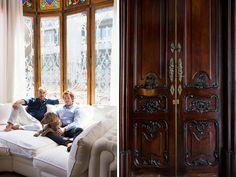 Interior designer Lázaro Rosa-Violán creates a visually decadent dwelling in Barcelona with a worldly mashup of influences