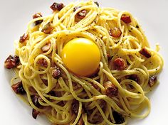Carbonara, Paolo Robertos recept (kock Paolo Roberto)