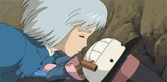 Hauru no ogoku shiro (Howl's Moving Castle) - 2004 Hayao Miyazaki, Howl's Moving Castle, Manga Anime, Old Anime, Studio Ghibli Art, Studio Ghibli Movies, Japanese Animated Movies, Japanese Cartoon, Totoro
