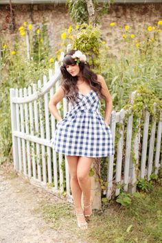 And my love affair with gingham continues, via The Cherry Blossom Girl
