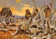 Prehistoric Wildlife, Prehistoric Man, Prehistoric Creatures, Ancient History, Art History, Moorish Science, Ages Of Man, Early Humans, Primitive Survival