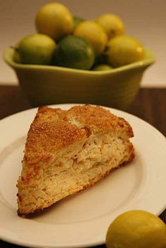 Key Lime coconut Scones