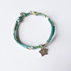 Bracelet personnalisable pour enfant. Handmade in France. Création ticha by sand. http://ticha.bigcartel.com