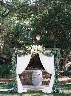 Photography: Ashley Kelemen - ashleykelemen.com/   Read More on SMP: http://www.stylemepretty.com/california-weddings/2016/08/09/california-spring-wedding-overflowing-sweetness/