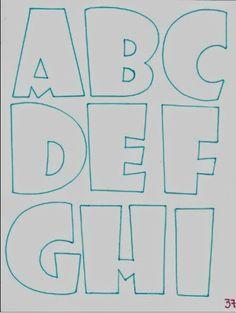 Son las letras que más uso para letreros, muy bonitas y redondeadas para mayor impacto. Sirven más para letreros con pequeños objetos de ado...