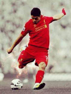 El uruguayo Luis Suarez juega desde el 2011 en el Liverpool.