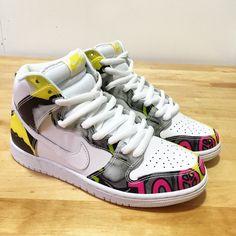 Nike SB De La Soul Dunk Hi Quickstrike 748751-177 Size US 7 Men