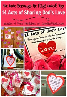 Acts Of Sharing Gods Love During The Month Of February Valentine Stuffvalentine Day Lovefunny