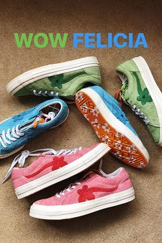 newest add83 80ec0 Upcoming Tyler, The Creator Golf le Fleur Converse One Stars