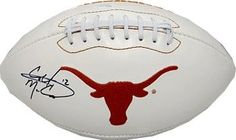 Colt McCoy AutographedHand Signed Texas Longhorns White Logo Football 12 black sig ** Click image to review more details. (This is an affiliate link and I receive a commission for the sales)