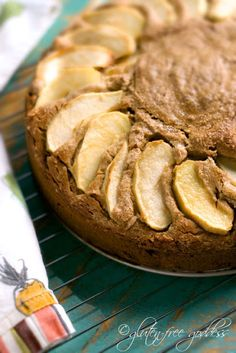 Gluten-free apple cake recipe with coconut flour