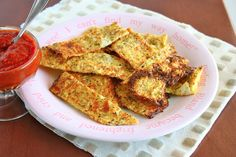 Cauliflower bread sticks.  My cousin tried this.  Said they were amazing and you could pick them up like breadsticks.  Going to try as pizza crust.