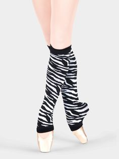 zebra leg warmers | #dance