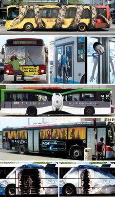 Bus Art: Transportation with Style | WebUrbanist