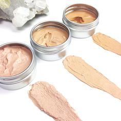 Mineral Cream Concealers! | ZERO WASTE | Toxin Free