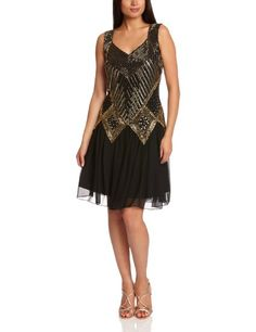 Frock and Frill Ariella Sleeveless Women's Dress: Amazon.co.uk: Clothing
